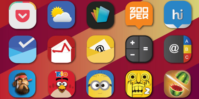 How to change icon packs in some of the more popular Android launchers