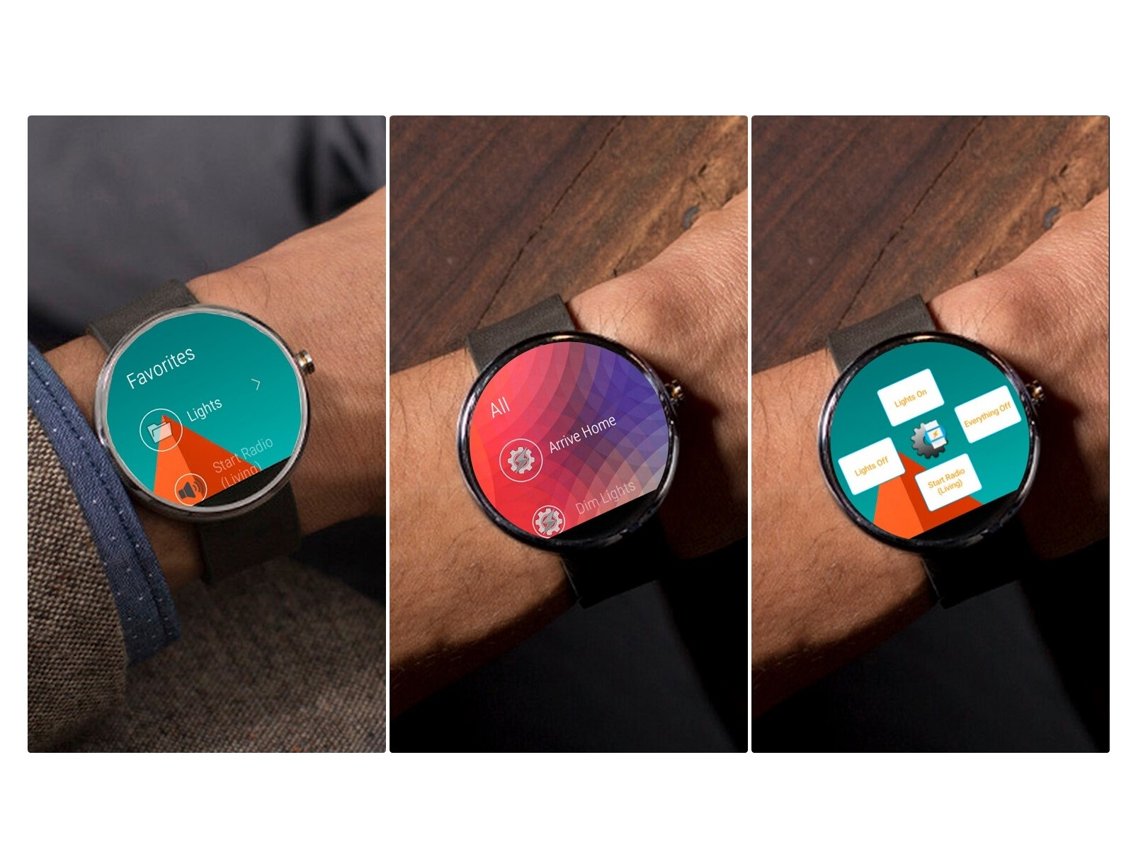 how to open app on phone using android wear