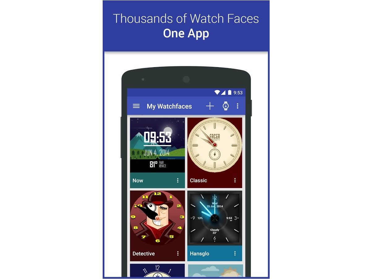 Designer android wear watchface - Facer Is A Popular Watchface Designer For Android Wear There Are Thousands Of Free Watchfaces Available To Users And With Powerful Design Editing Tools