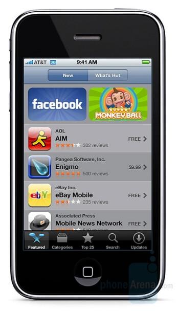 Apple's App Store launch details