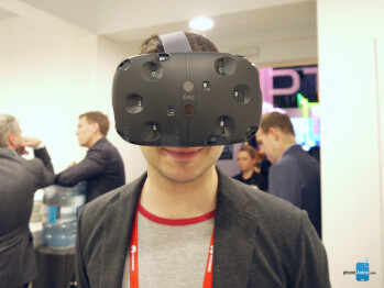 The HTC Vive VR is a nerdy contraption that you wear over your eyes
