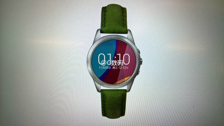 Purported Oppo smartwatch charges in five minutes!
