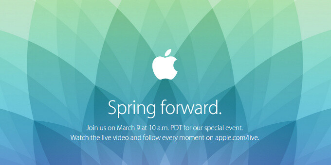 How to live stream the Apple Watch 'Spring Forward' event