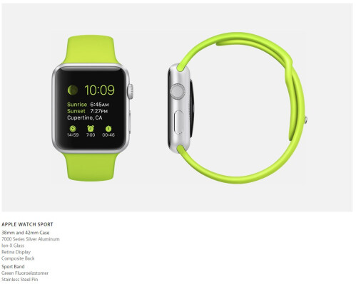 Apple Watch series, models, and wrist bands