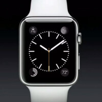 A classic Apple Watch face