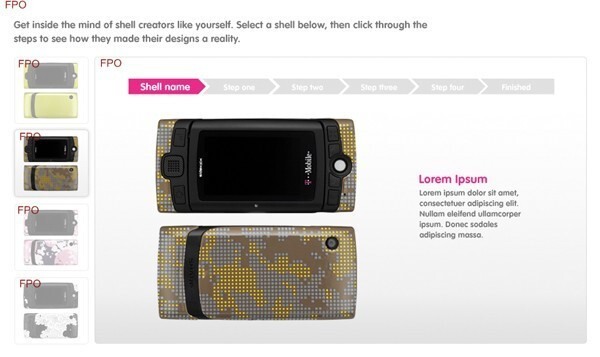 Custom shell creation - T-Mobile to launch a new Sidekick on 30th of July