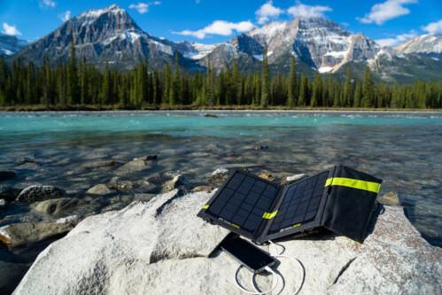GoalZero Nomad solar panel