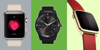 Apple Watch vs Android Wear vs Pebble Time: features ...