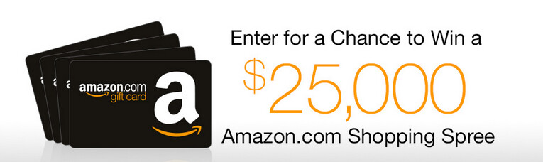 Download one app and you could win $25,000 in Google gift cards - Downloading an app from Amazon could win you $25,000 (U.S. only)