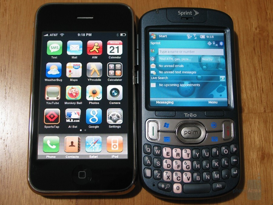 iPhone 3G and 800w - Hands-on with the Treo 800w