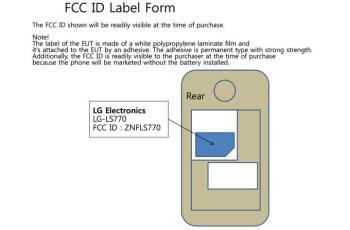 5.8-inch LG phablet for Sprint appears at the FCC