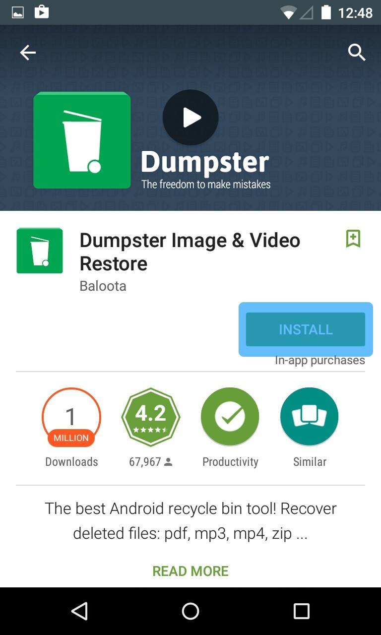 Phone Android Phone Recycle Bin how to get a recycle bin on your android smartphone no seriously
