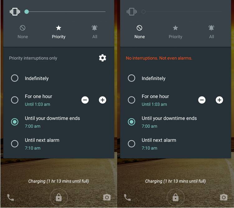 Hoping that Android 5.1 will bring back the good old Silent Mode? We wouldn't hold our breath