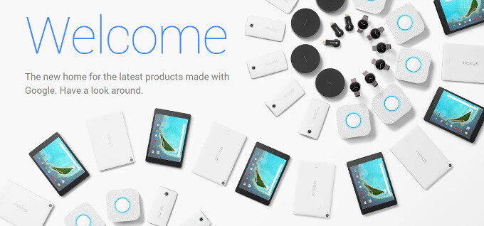 Google Store is open for business: the new shop for Nexus phones and tablets