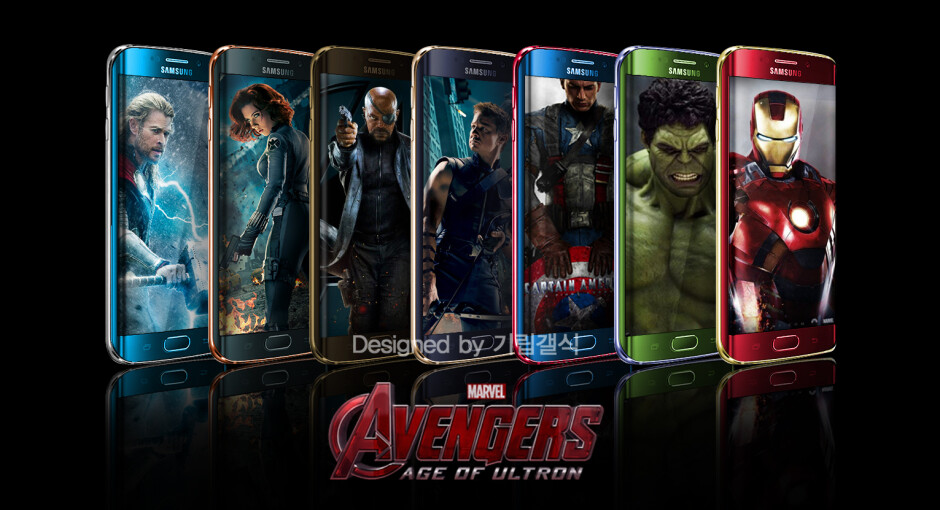 Samsung considering whether to build limited edition Avengers-themed Samsung Galaxy S6 edge variants