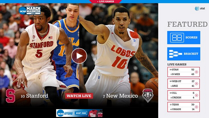 Stream all 67 NCAA Men's basketball tournament games on your mobile device - March Madness app updated for Windows Phone 8.1 handsets and Windows 8.1 slates