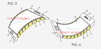 Samsung wants to patent a phone with bendable display and chassis, patent application reveals