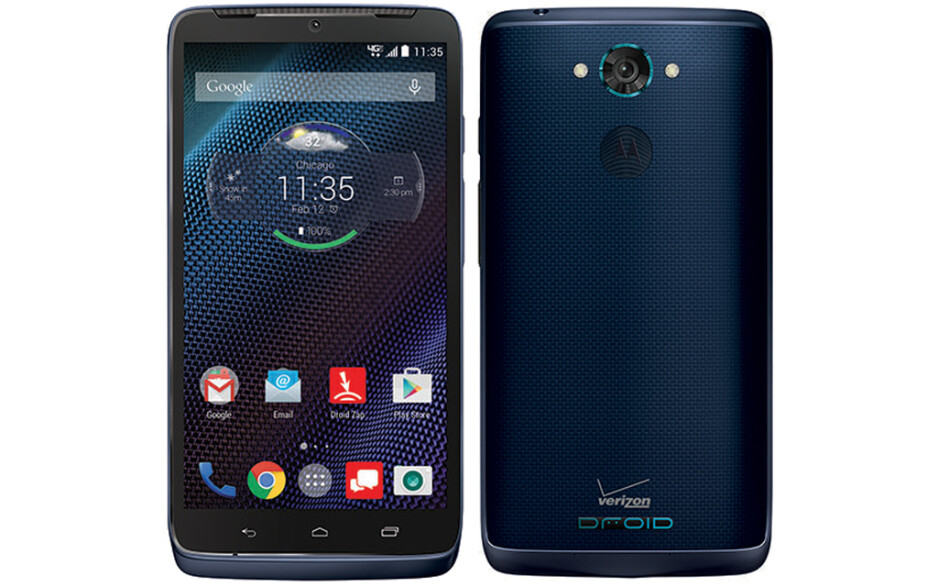 Verizon's Motorola Droid Turbo is now also available in blue