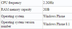Microsoft Lumia 640 XL seems to have 2 GB of RAM and a faster CPU in China
