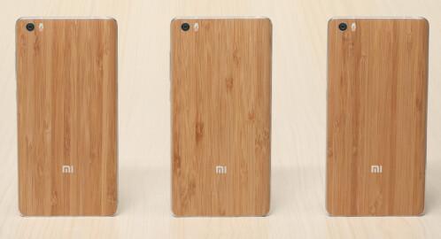 Xiaomi's Mi Note Natural Bamboo Edition