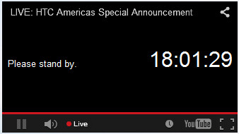 HTC teases tomorrow's media event with a countdown timer - HTC to hold live event tomorrow; will we see the HTC One M9 Plus?