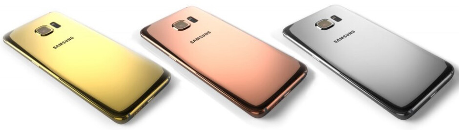 Now that's premium - Galaxy S6 in rose gold and platinum will cost you a pretty penny
