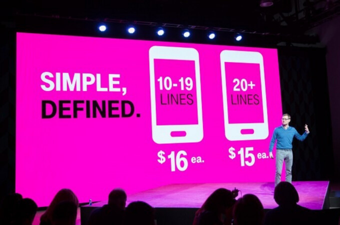 T-Mobile's Un-carrier 9 offers pricing for business customers that is said to be 42% lower than business plans offered by Verizon and AT&T - T-Mobile's Un-carrier 9 offers lower pricing for businesses and some goodies for consumers as well