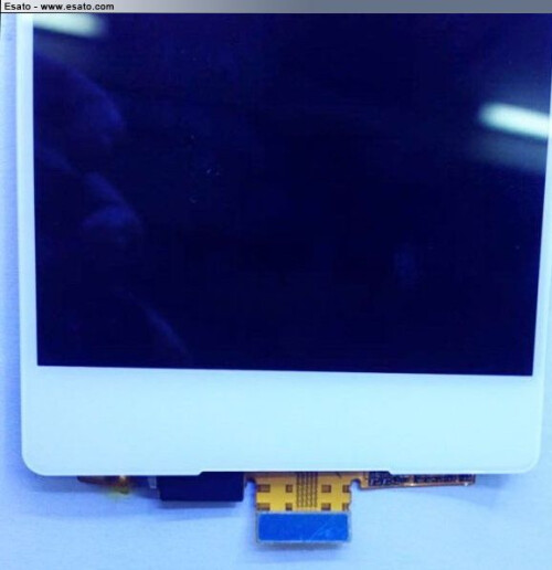 Alleged Xperia Z4 LCD digitizer