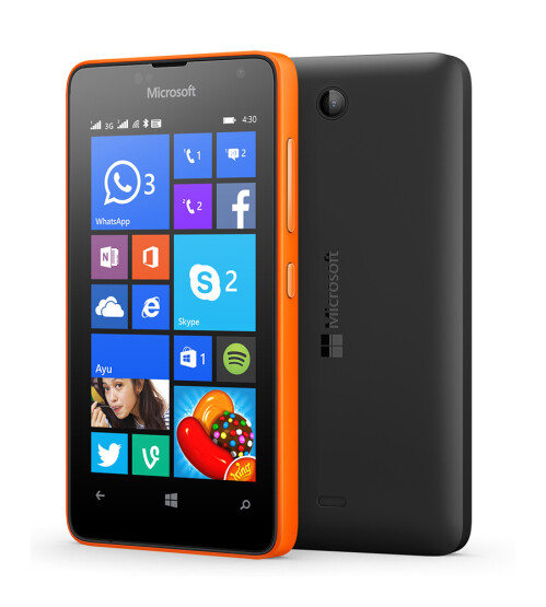Microsoft Lumia 430 photos