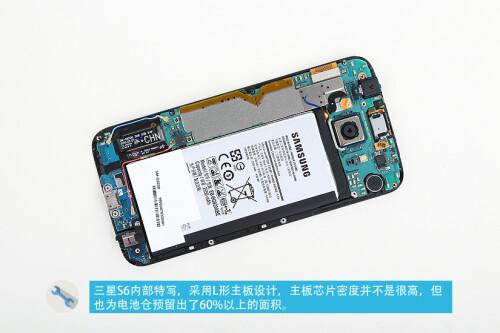 Samsung Galaxy S6 teardown images