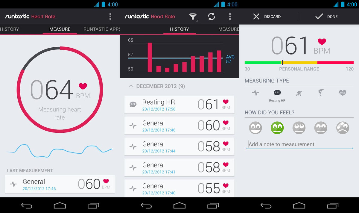 Heart rate apps such as pulse phone and heart rate - You Don T Really Need A Dedicated Heart Rate Monitor Like The One On The Galaxy S6 In Order To Measure Your Pulse There Are Many Apps Made To Do That