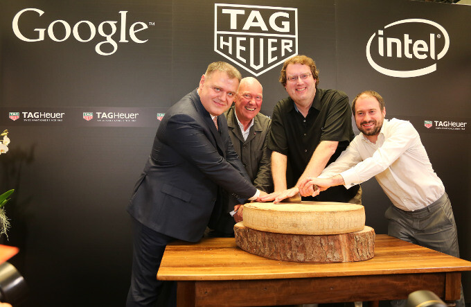 Google, Intel, and TAG Heuer unveil partnership over 'the greatest connected watch'