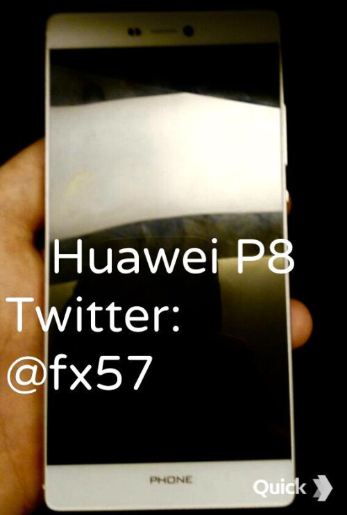 All alleged Huawei P8 images leaked so far