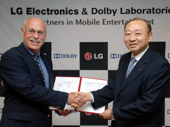 LG will sell handsets with Dolby technology