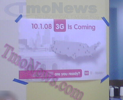 T-Mobile 3G to be launched in 27 markets on October 1