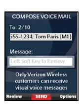 Verizon launches Visual Voice Mail