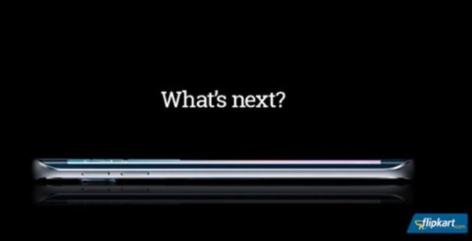 "Indian online retailer Flipkart teases the Samsung Galaxy S6 edge - Flipkart promotes Samsung Galaxy S6 edge, asks ""What's Next?"""
