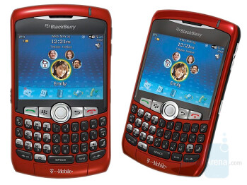 T-Mobile's Curve now in Sunset red