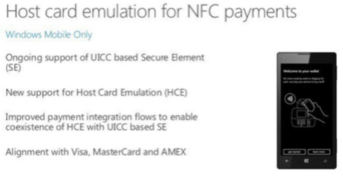 Mobile Payments coming to Windows 10 for Phones