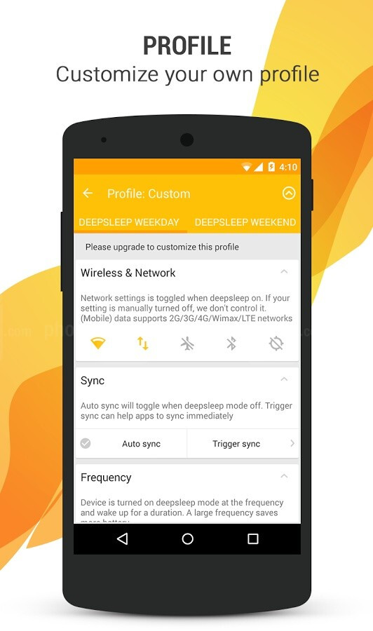 Deep Sleep Battery Saver for your Android puts your ...