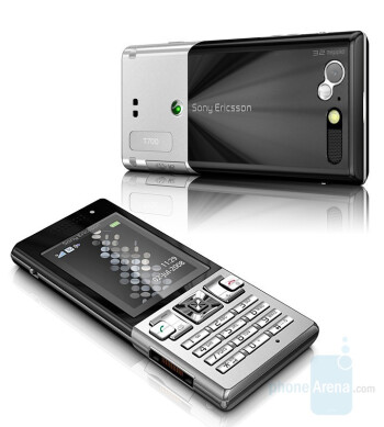 Sony Ericsson T700 is slim and metal