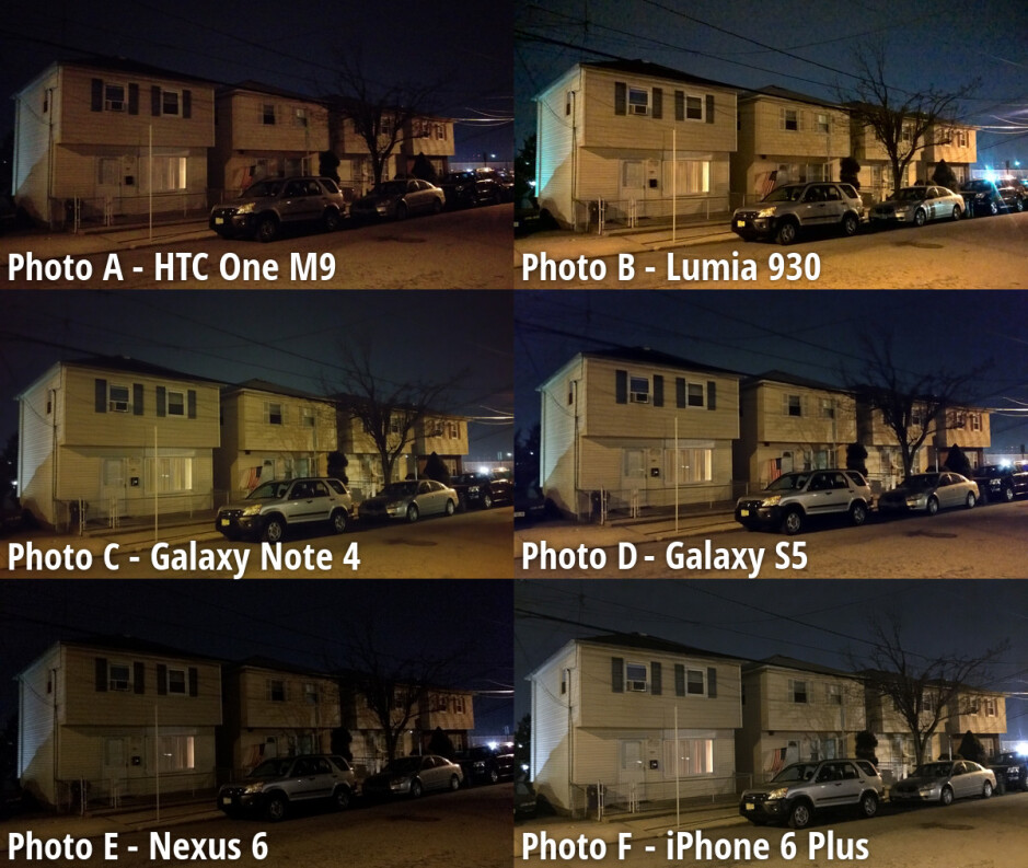 Side-by-side preview - Nokia Lumia 930 wins our blind camera comparison, followed by Galaxy Note 4; HTC One M9 ends up last