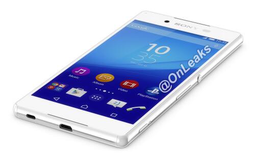Alleged Sony Xperia Z4 press renders