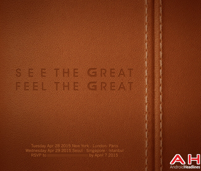 The LG G4 should be unveiled on April 28th - LG to unveil the LG G4 on April 28th