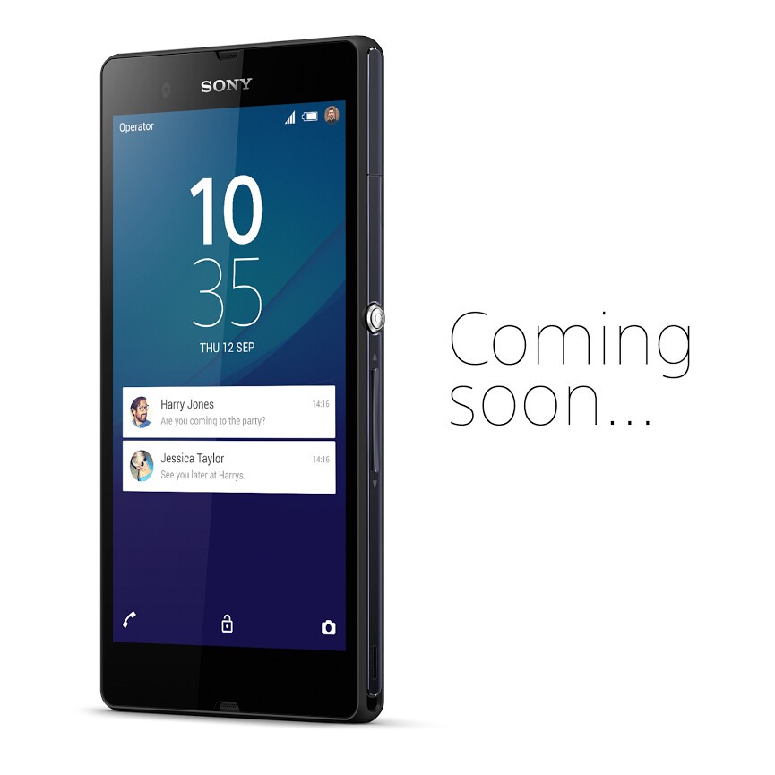 Sony reveals that Lollipop for the Xperia Z is also on the way