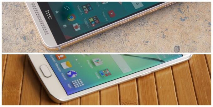 HTC One M9 vs Samsung Galaxy S6 edge: vote for the better smartphone!