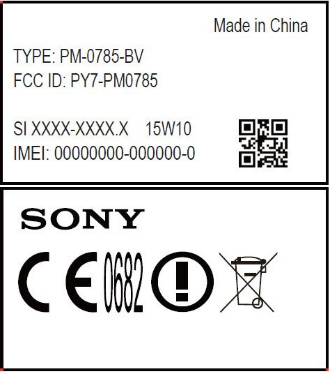 Sony PM-0780 at the FCC