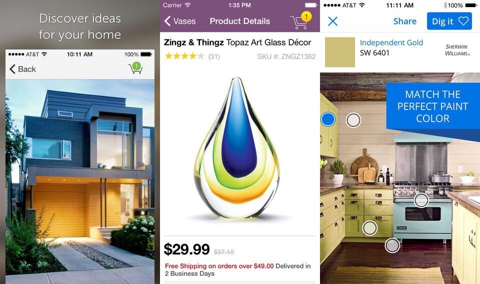 Beautiful Best Home Design, Renovation, Decor And Interior Apps For IPhone And  Android (2015 Edition)
