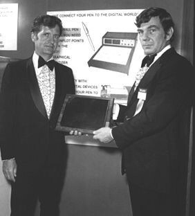 Dr. Samuel Hurst (left) - Article: Touchscreen technologies in phones