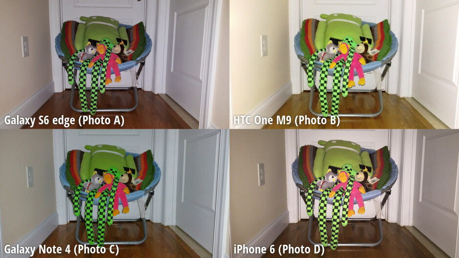 Side-by-side preview - Samsung Galaxy S6 edge tops our blind camera comparison, HTC One M9 lags behind